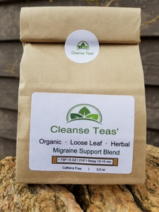 Migraine healing tea medical medium cleanse organic herbal tea cleanse tea cleanse teas crysanthemum feverfew white willow bark rosemary leaf skull cap valerian root