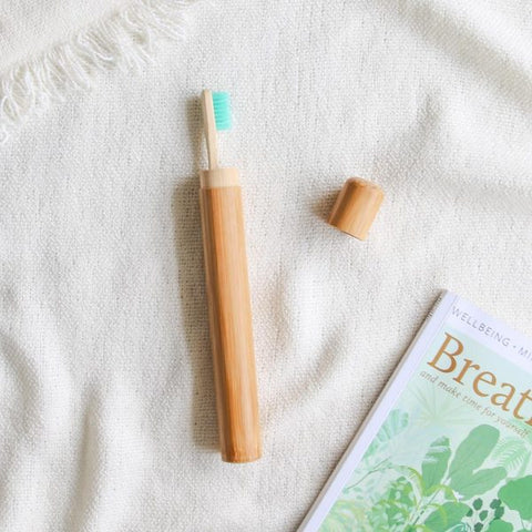 ECO SHOP CO Bamboo Toothbrush Cover
