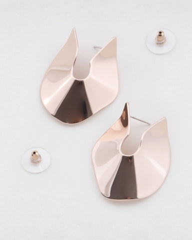 PETER LANG Saint Earring rose gold