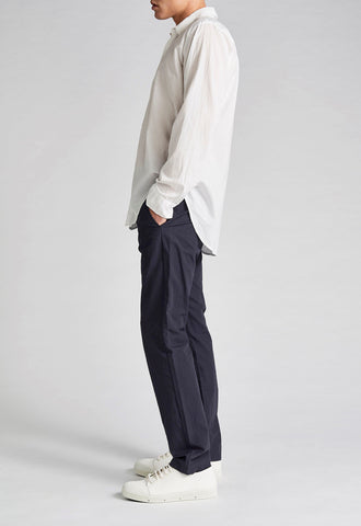 JAC + JACK Folded Collar Shirt White