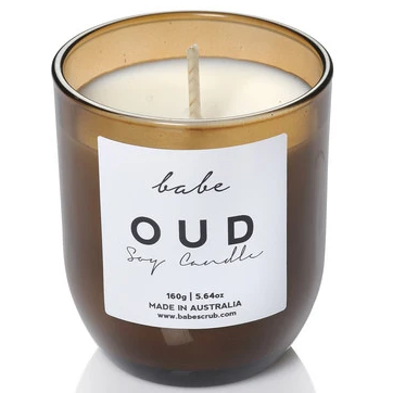 BABE Luxury Soy Candle oud
