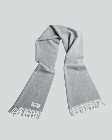 NN07 Scarf One grey melange