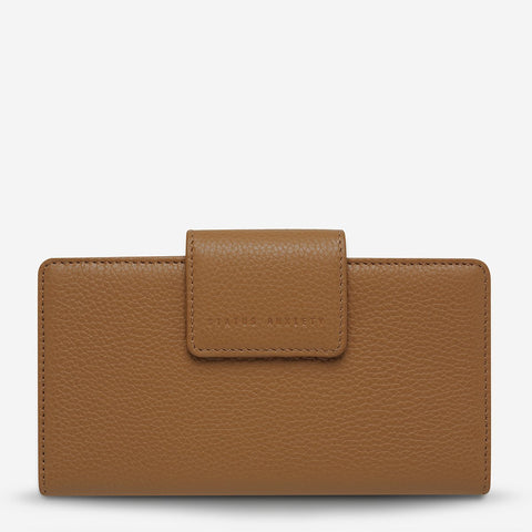 STATUS ANXIETY Ruins Wallet tan