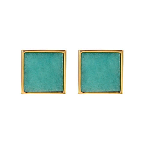 PETER LANG Genoa Clip On Earrings blue