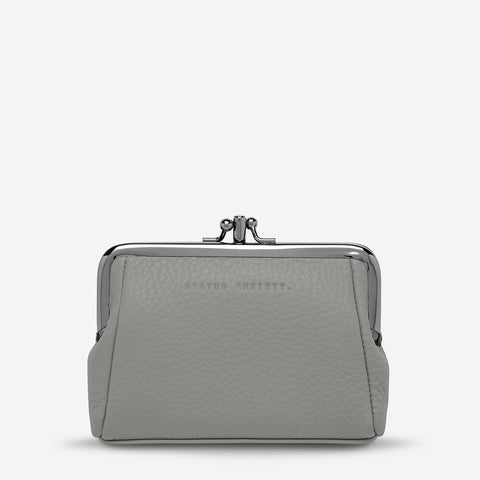 STATUS ANXIETY Volatile Purse light grey