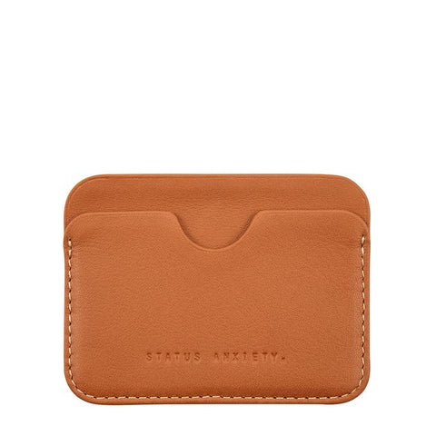 STATUS ANXIETY Gus Wallet Camel
