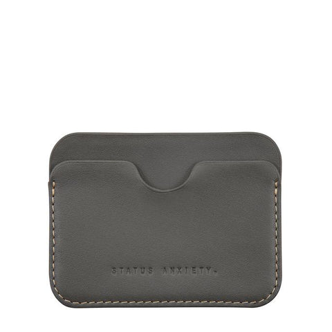 STATUS ANXIETY Gus Wallet Slate