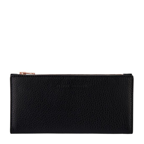 STATUS ANXIETY In The Beginning Wallet Black