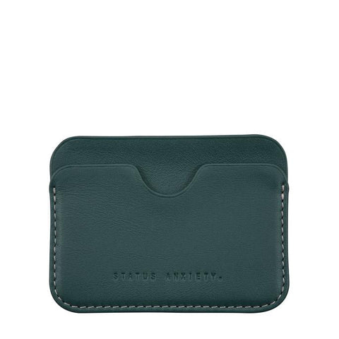 STATUS ANXIETY Gus Wallet Teal