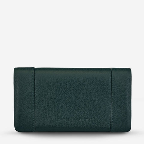 STATUS ANXIETY Some Type of Love Wallet teal