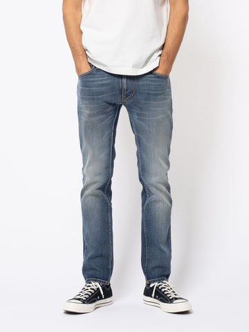 NUDIE JEANS CO Thin Finn blue temple