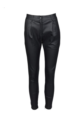 CABLE MELBOURNE Steph Wax Pants black