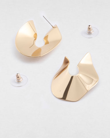 PETER LANG Saint Earring gold