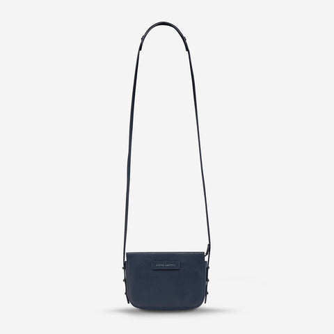 STATUS ANXIETY In Her Command Bag navy blue
