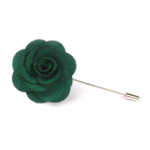 OTAA Lapel Flower jungle green