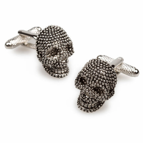 OTAA Kingdom of the Crystal Skull Cufflinks rhodium plating and silver