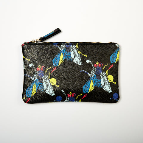 DAY FIVE STUDIOS Vegan Leather Pouch fly
