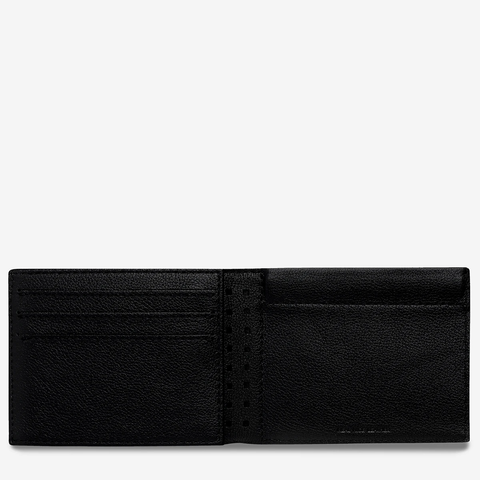 STATUS ANXIETY Noah Wallet black