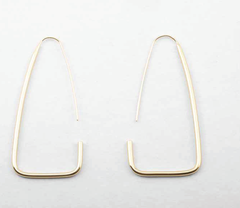 PETER LANG Tauret Earrings champagne gold
