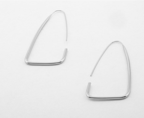 PETER LANG Tauret Earrings silver