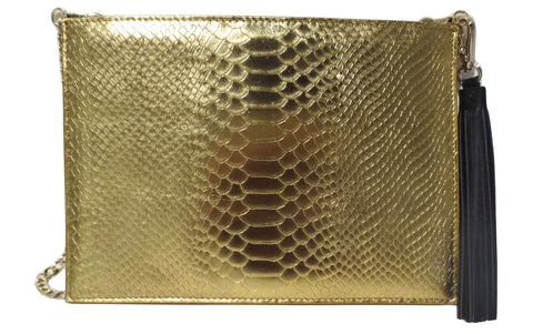 PETER LANG Patti Clutch gold