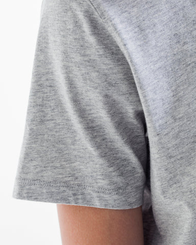 NN07 Pima Plain tee grey
