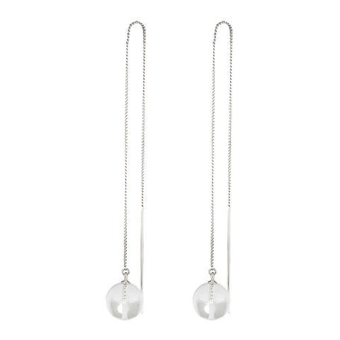 PETER LANG Pure Thread Earring silver