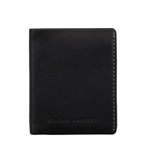 STATUS ANXIETY Edwin Wallet Black