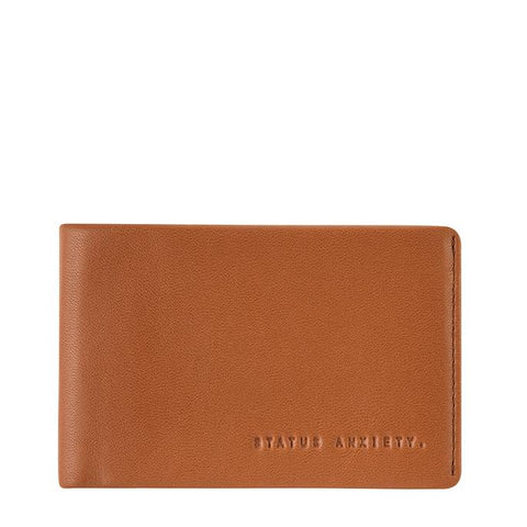 STATUS ANXIETY Quinton Wallet Camel