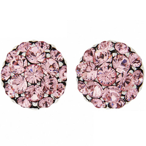 PETER LANG Farah Pink Clip-On Earrings