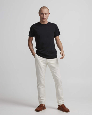 NN07 Pima Plain Tee black