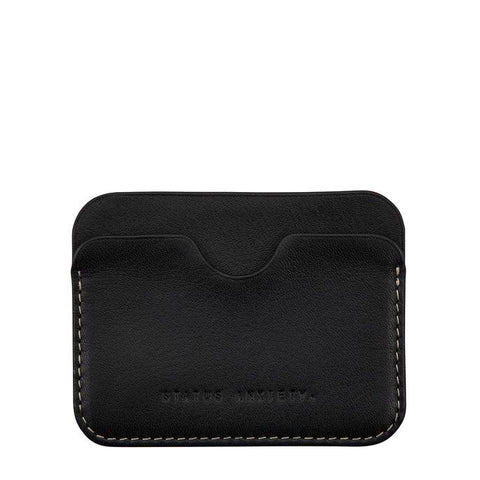 STATUS ANXIETY Gus Wallet Black