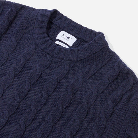 NN07 Fabian Sweater navy blue