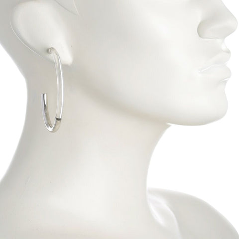 PETER LANG Crystalline Earrings silver