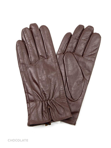 HIDE Miro Leather Glove 1914 chocolate