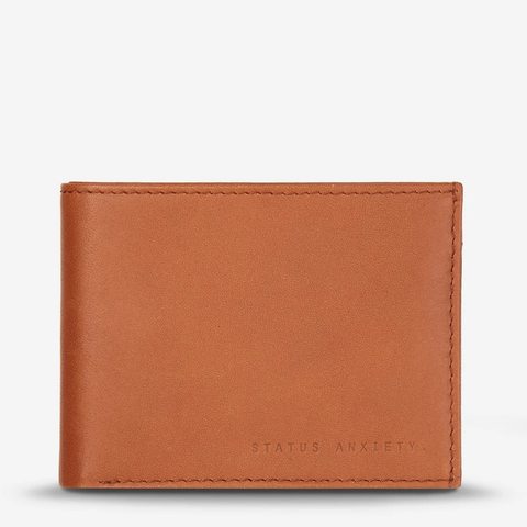 STATUS ANXIETY Noah Wallet camel