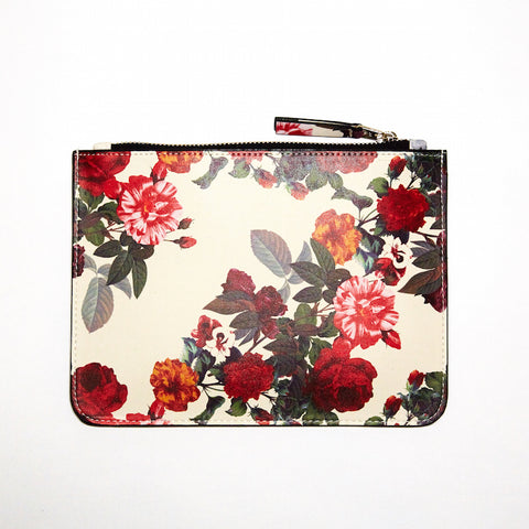 DAY FIVE STUDIOS Vegan Leather Coin Clutch rose