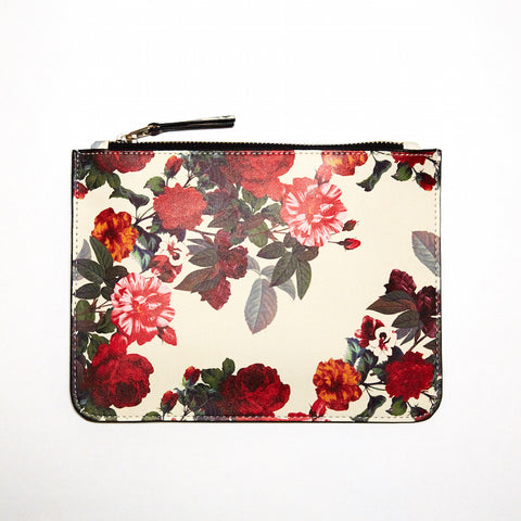 DAY FIVE STUDIOS Vegan Leather Clutch rose