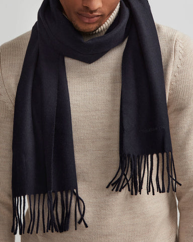 NN07 Scarf One navy blue