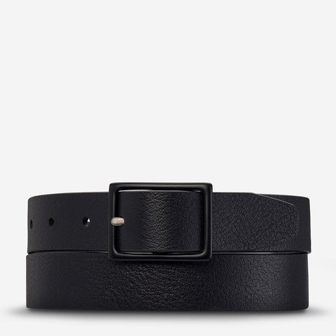 STATUS ANXIETY Assertion Belt black