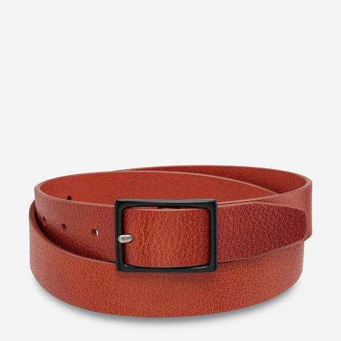 STATUS ANXIETY Assertion Belt tan