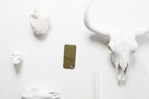 STATUS ANXIETY Hunter And Fox iPhone Cover khaki