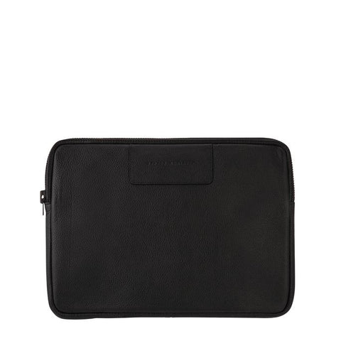 STATUS ANXIETY Before I Leave Laptop Case Black