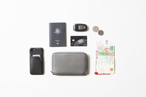 STATUS ANXIETY Vow Travel Wallet slate