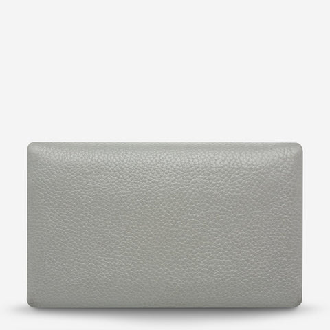 STATUS ANXIETY Audrey Wallet light grey pebble