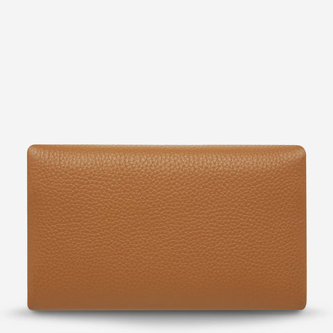 STATUS ANXIETY Audrey Wallet tan pebble