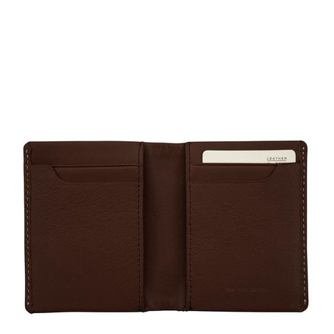 STATUS ANXIETY Edwin Wallet Chocolate