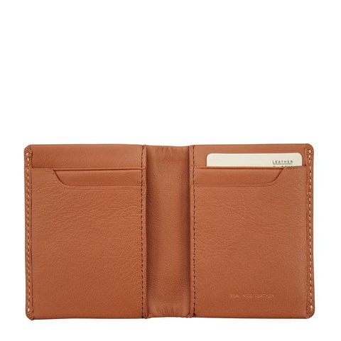 STATUS ANXIETY Edwin Wallet Camel