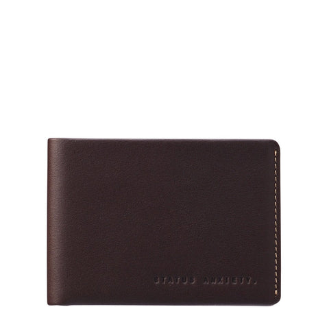 STATUS ANXIETY Otis Wallet chocolate