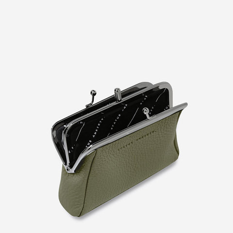 STATUS ANXIETY Volatile Purse khaki